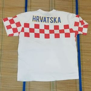 Other - Vintage football (soccer) tee - Hrvatska